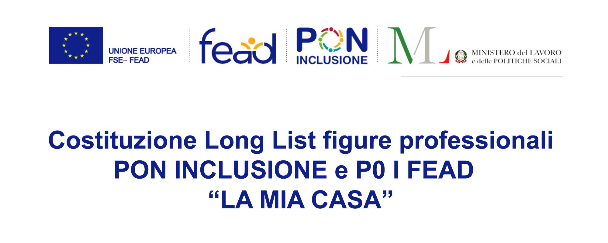 Pubblicazione Long List