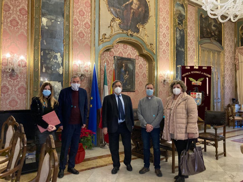Siglata Convenzione con la Città Metropolitana di Palermo per solidarietà sociale e di mutuo soccorso