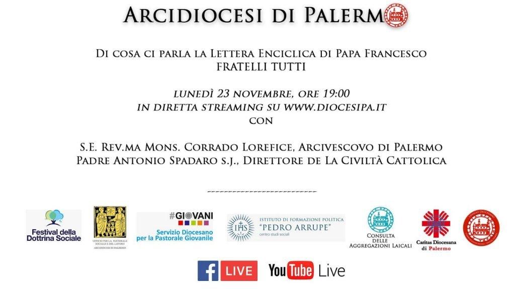 """Approfondimento dell'ultima Lettera Enciclica di Papa Francesco """"Fratelli Tutti"""":"""